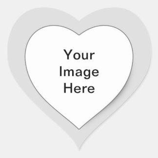 Arte clásico del coche pegatina en forma de corazón