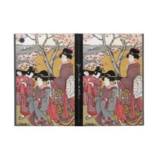 Arte clásico japonés oriental fresco de la señora iPad mini protector