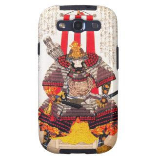 Arte clásico japonés oriental fresco del guerrero  galaxy s3 protectores