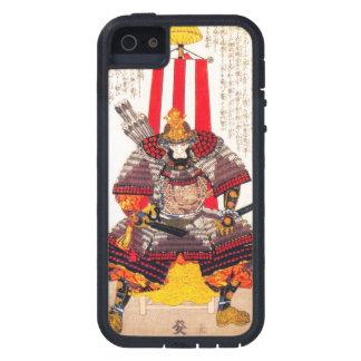 Arte clásico japonés oriental fresco del guerrero funda para iPhone SE/5/5s