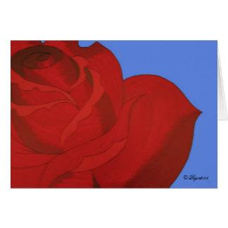 Arte color de rosa por la tarjeta de Pryor