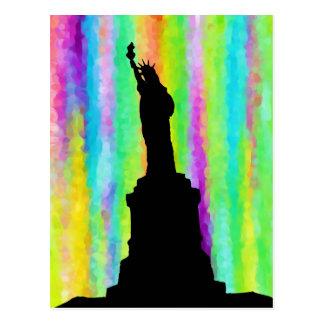 Arte. Color. Vida. Libertad Postales