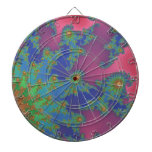 Arte coloreado arco iris maravilloso del fractal