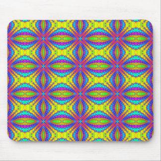 arte coloreado del caleidoscopio del fractal alfombrilla de raton