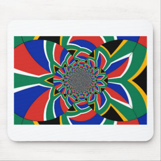 Arte colorido asombroso hermoso de la bandera de mousepad