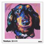 arte colorido brillante del perro del estallido