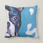 Arte colorido brillante del perro del estallido de almohada
