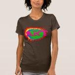 Arte colorido camiseta