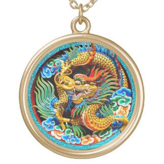 Arte colorido chino fresco de la flor de loto del  joyeria