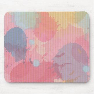 Arte colorido de Abastract de la cartulina de la Mousepads