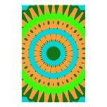 Arte colorido de Digitaces del girasol Papeleria