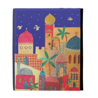 Arte colorido de la ciudad de Jerusalén