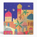 """Arte colorido de la ciudad de Jerusalén Carpeta 1"""""""