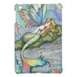 Arte colorido de la fantasía de los pescados de la iPad mini cobertura