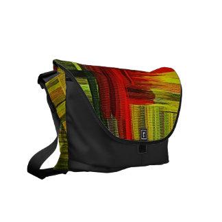 Arte colorido de la pintura - las bolsas de mensaj bolsas messenger