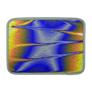 Arte colorido de la textura fundas MacBook