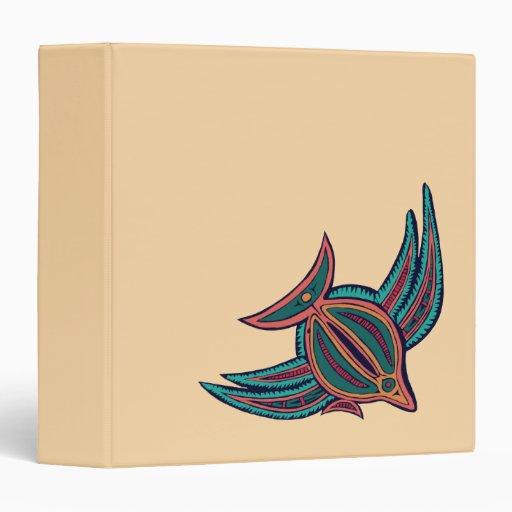 """Arte colorido de los mares del sur carpeta 1 1/2"""""""