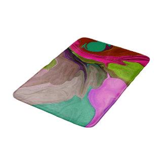 arte colorido del baño