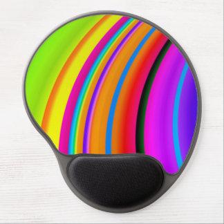 Arte colorido del fractal de la multa del arco alfombrillas con gel
