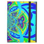 Arte colorido del fractal del extracto de la flor