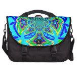 Arte colorido del fractal del extracto de la flor  bolsas de ordenador