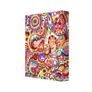 ¡Arte colorido en lona - aliste para colgar! Impresiones En Lienzo Estiradas