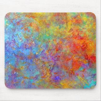 Arte colorido Mousepad del arco iris