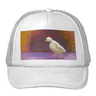 Arte colorido único de pensamiento de la diversión gorra