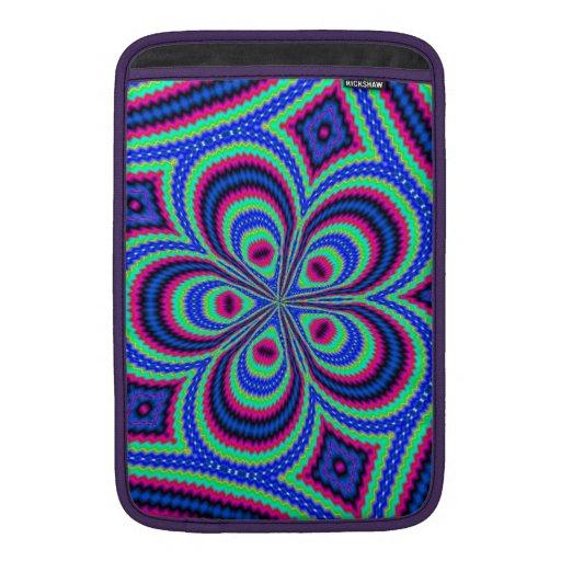 Arte colorido único moderno funda macbook air