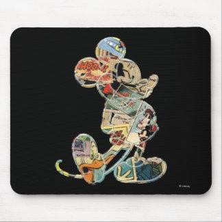 Arte cómico clásico de Mickey el | Mouse Pads