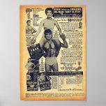 Arte cómico de la época dorada - anuncio del Bodyb Posters
