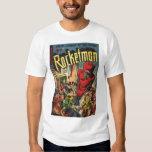 Arte cómico de la época dorada - Rocketman Remera