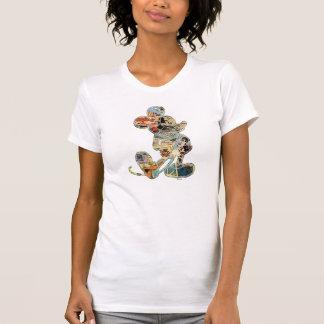 Arte cómico Mickey Mouse Camiseta