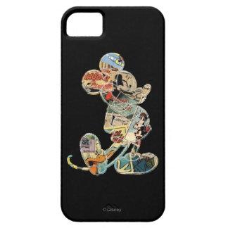 Arte cómico Mickey Mouse iPhone 5 Case-Mate Protector