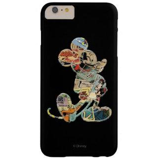 Arte cómico Mickey Mouse Funda De iPhone 6 Plus Barely There