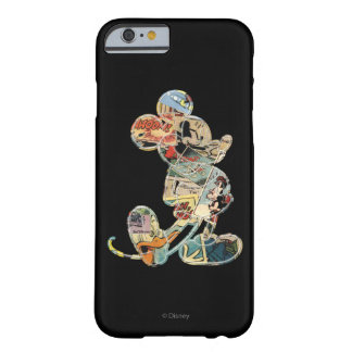 Arte cómico Mickey Mouse Funda Para iPhone 6 Barely There