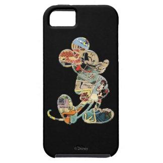 Arte cómico Mickey Mouse iPhone 5 Carcasas