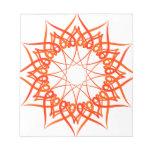 Arte complejo bloc de papel