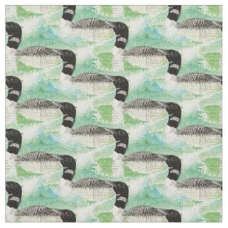 Arte común de la naturaleza del pájaro del bribón telas