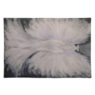 Arte con alas hermoso de la pintura del ángel de mantel