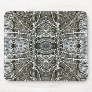 Arte congelado del fractal del extracto del caleid alfombrillas de raton
