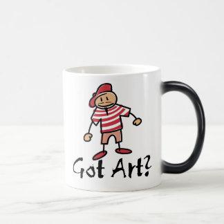 ¿Arte conseguido? Tazas