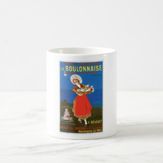 Arte conservado Boulonnaise del anuncio de la comi Tazas De Café