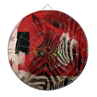 Arte contemporáneo abstracto de la cebra 4,0
