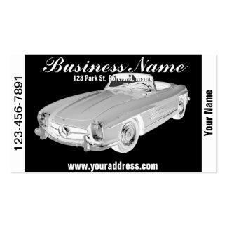 Arte convertible del coche del SL del Benz 300 de Plantillas De Tarjeta De Negocio