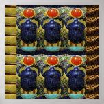 Arte CÓSMICO del EGIPCIO de la conexión de la ener Poster