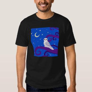 Arte creciente del bosque de la noche de la luna playeras
