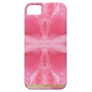 Arte cristalino: Rocío de la mañana en el pétalo iPhone 5 Fundas