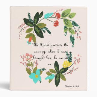 Arte cristiano de la cita - 116 6 del salmo
