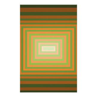Arte cuadrado gráfico moderno de la ilusión óptica  papeleria